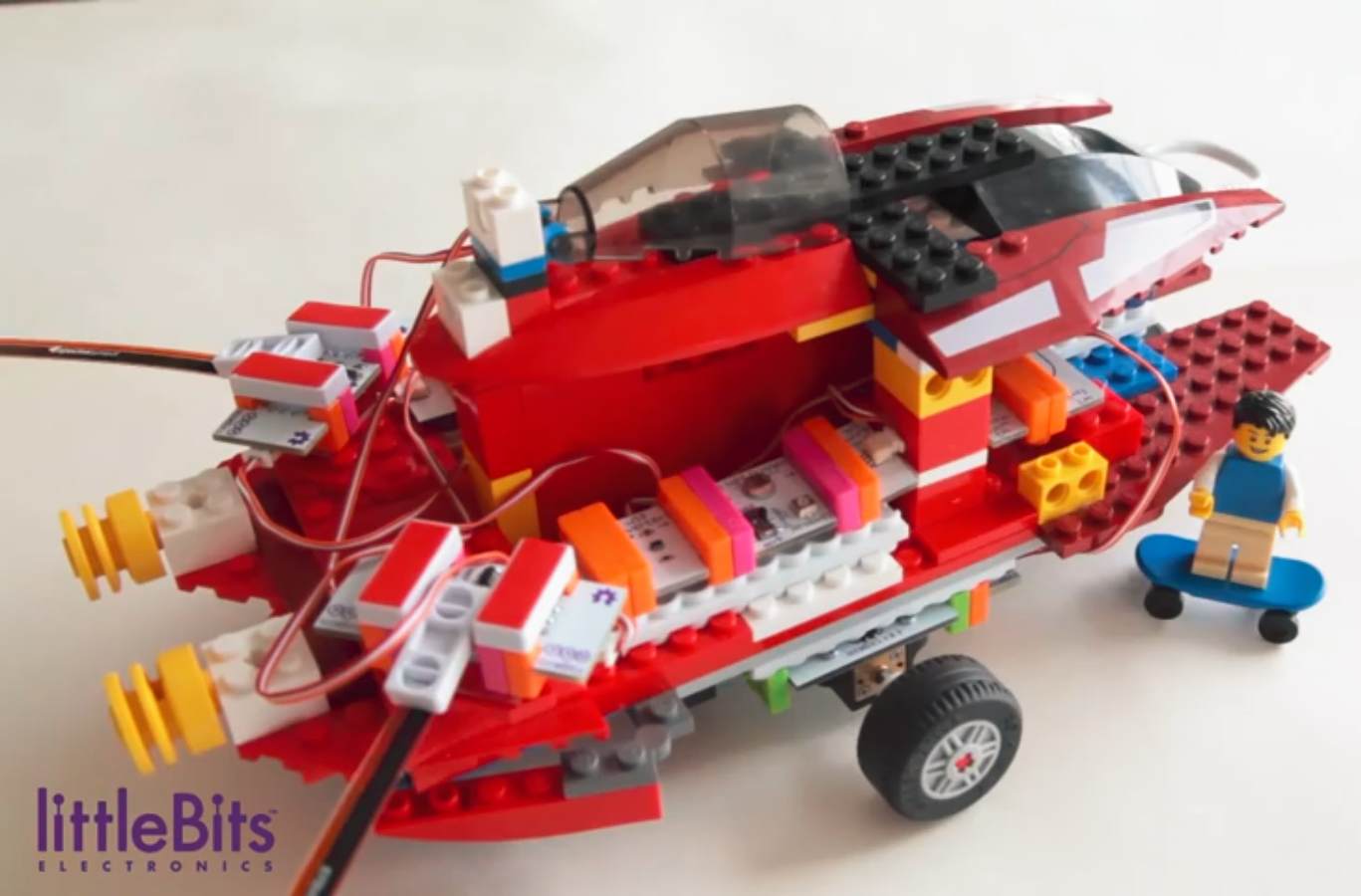 SET - GIZMOS & GADGETS KIT a LEGO brick adaptér
